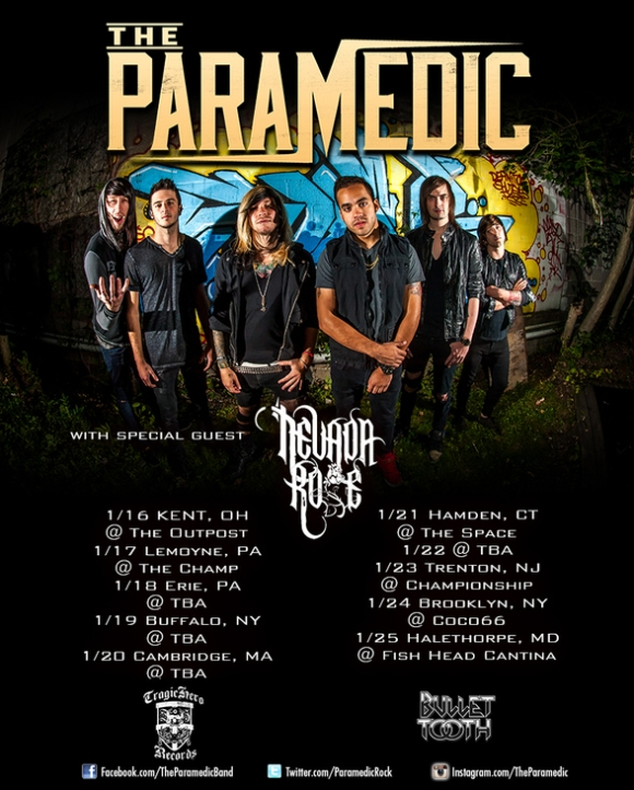 paramedic nevada rose tour