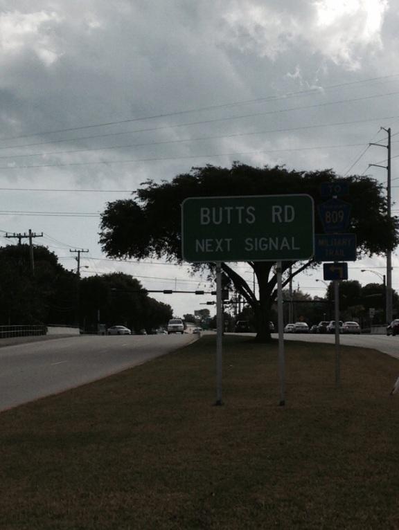 1. Tina Beltcher's favorite road.