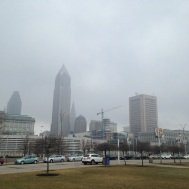 10(B). Cold & grey in Cleveland, OH.