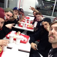 14(B). In'N'Out hangz with Such A Mess.