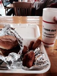 3(B). Last Cookout of tour, hush puppies I'll miss youuu