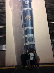 9. Part of the world's biggest clarinet...and us in New Orleans.