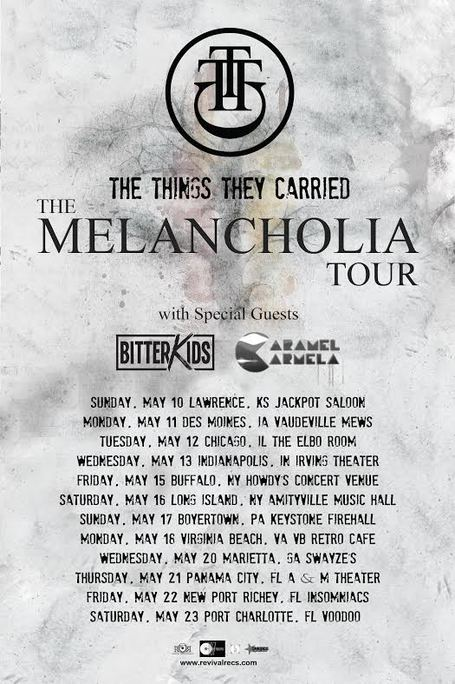 the things they carried tour