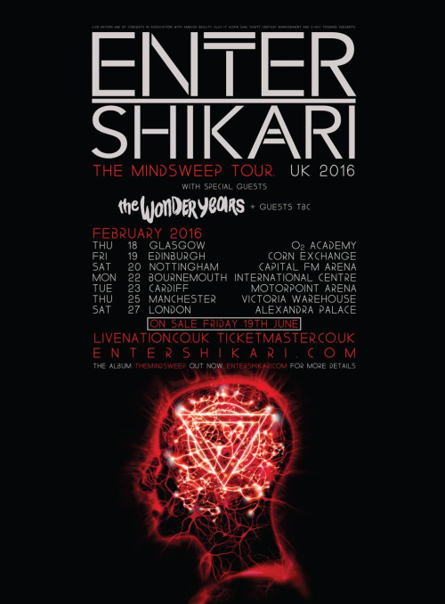 enter shikari tour