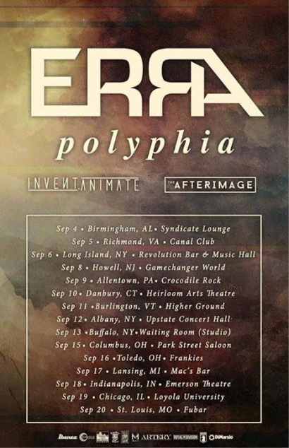 afterimage us tour debut