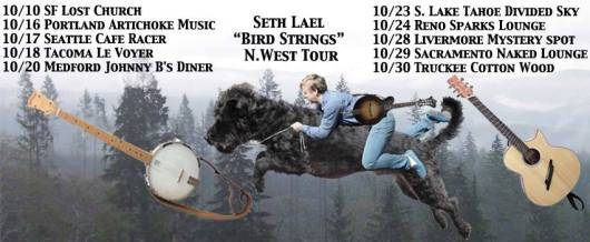 seth lael west coast tour