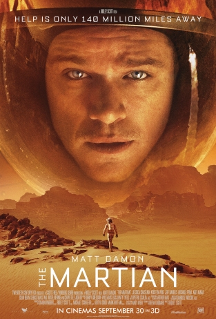 The Martian Launch One Sheet