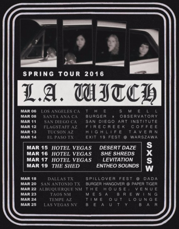 LA Witch tour